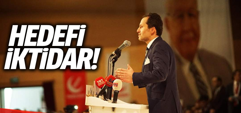 Fatih Erbakan, Yeniden Refah Partisi'nin tanıtımında konuştu