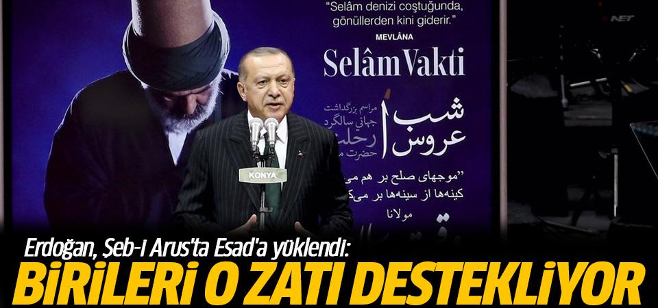 Erdoğan, Şeb-i Arus'ta Esad'a yüklendi