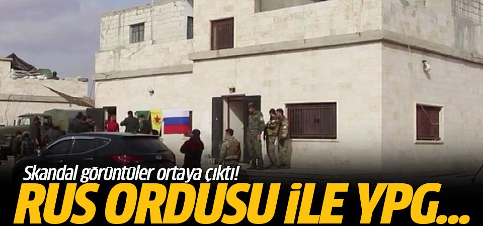 Rus ordusu, Münbiç'te YPG ile ortak devriye yapıyor