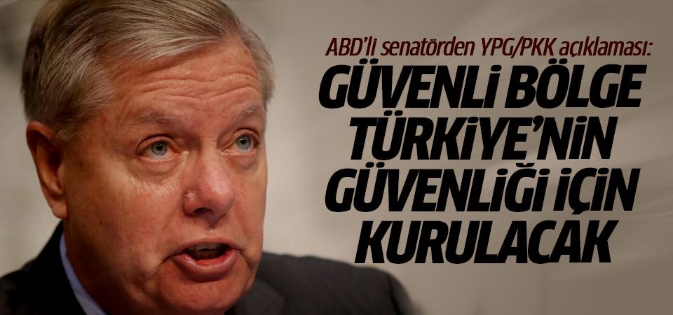 ABD'li senatörden YPG/PKK açıklaması: Güvenli bölge Türkiye'nin güvenliği için kurulacak