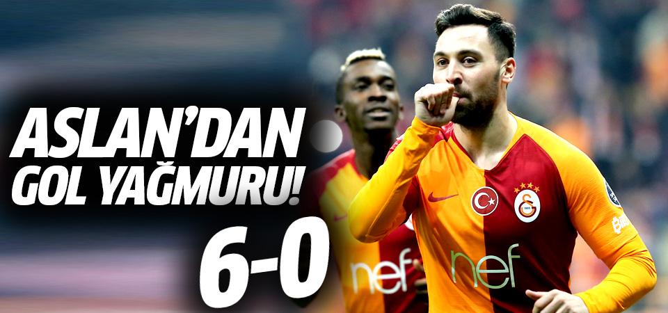 Galatasaray'dan Ankaragücü'ne gol yağmuru! 6-0