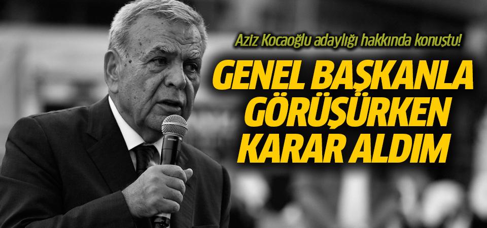 Aziz Kocaoğlu'ndan İzmir adaylığı açıklaması