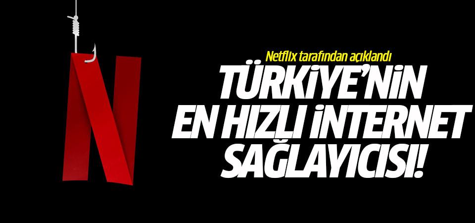 Türkiye'nin en hızlı internet sağlayıcısı!