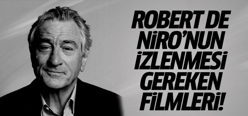 Robert De Niro'nun izlenmesi gereken filmleri!