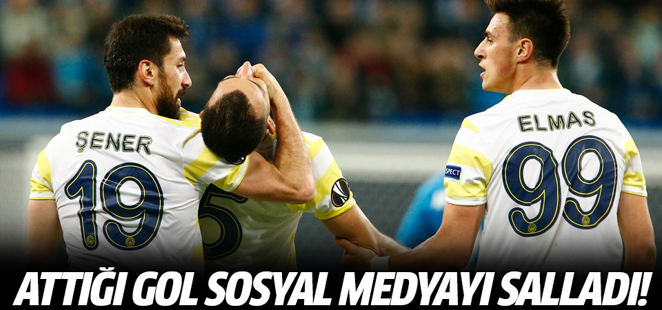 Mehmet Topal'ın Golü Sosyal Medyayı Salladı