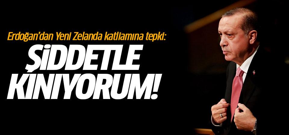 Erdoğan'dan Yeni Zelanda katliamına tepki…
