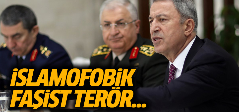 Akar: İslamofobik faşist terör...