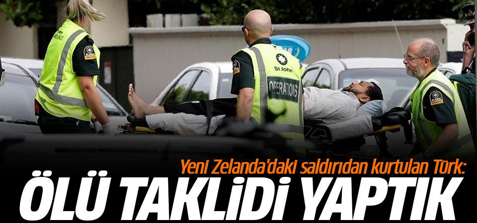 Saldırıdan yaralı kurtulan Türk: Ölü taklidi yaptık