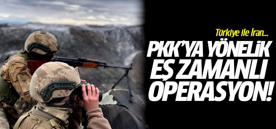 PKK'ya yönelik eş zamanlı operasyon!