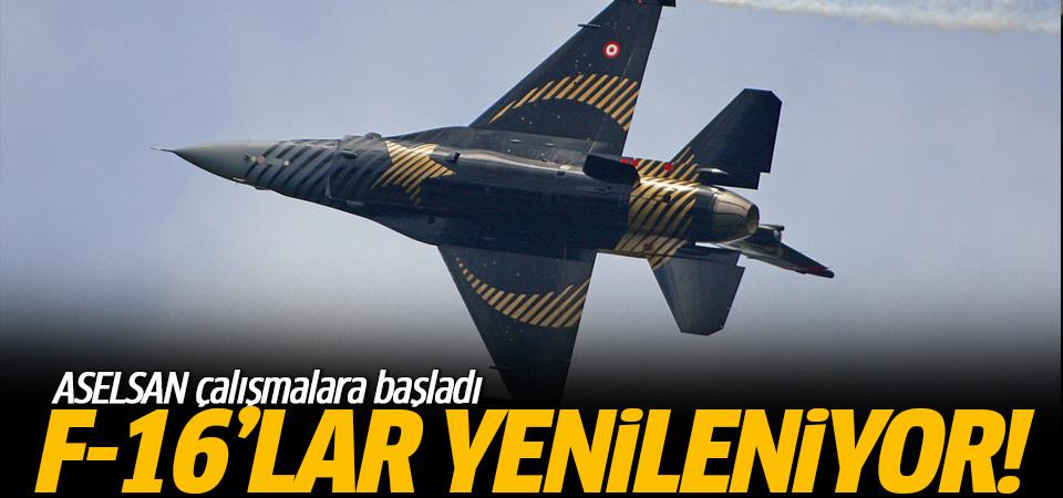 ASELSAN, F-16'ları yenileştirmek için çalışmalara başladı