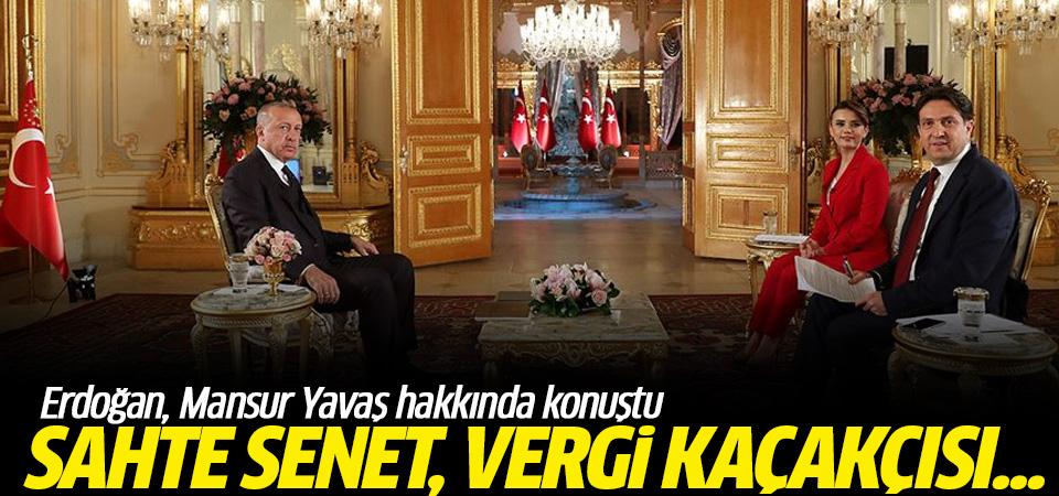 Erdoğan'dan Mansur Yavaş'a: Sahte senet, vergi kaçakçısı...