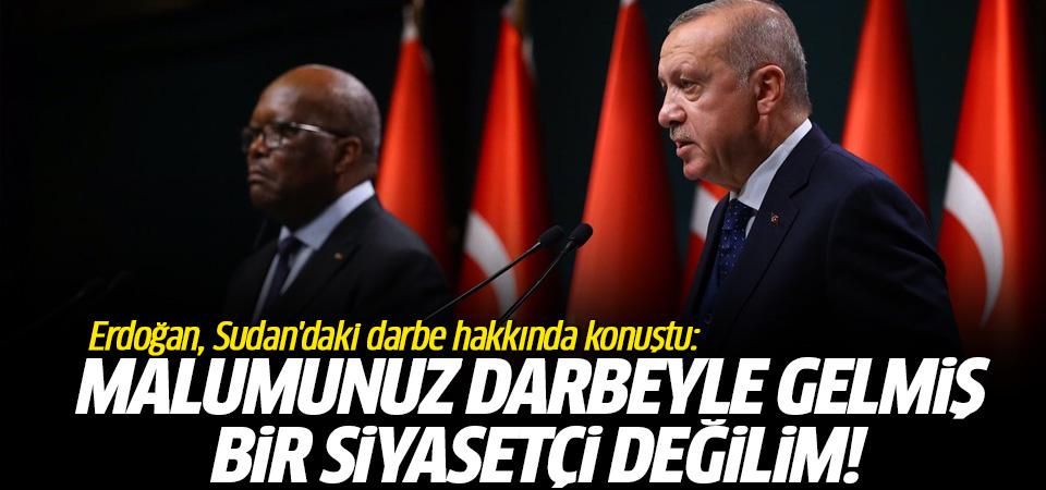Erdoğan, Sudan'daki gelişmelere ilişkin konuştu…