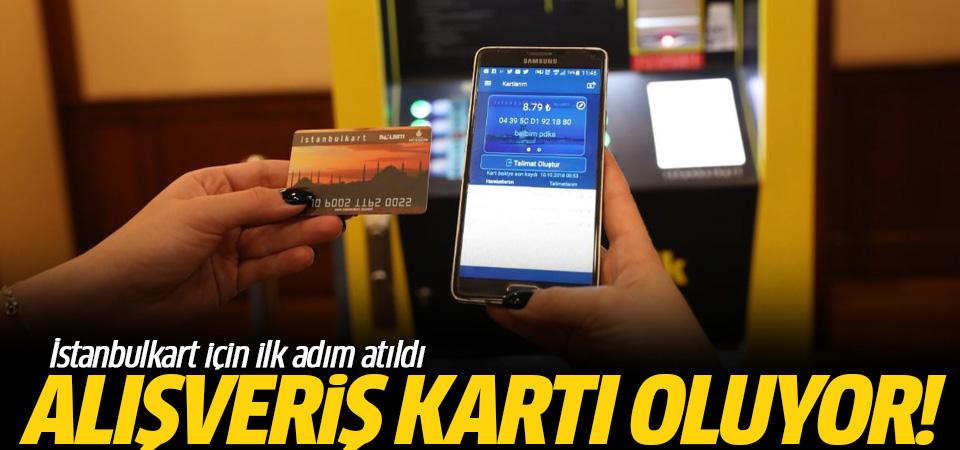 İstanbulkart uluslararası alışveriş kartı olacak!