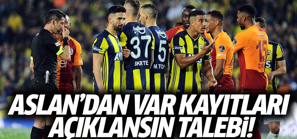 Galatasaray'dan, VAR kayıtları açıklansın talebi…
