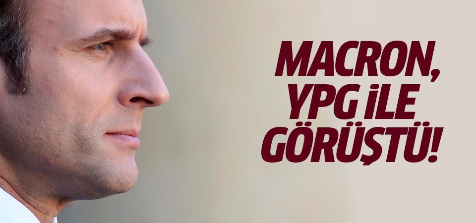 Macron YPG heyeti ile görüştü