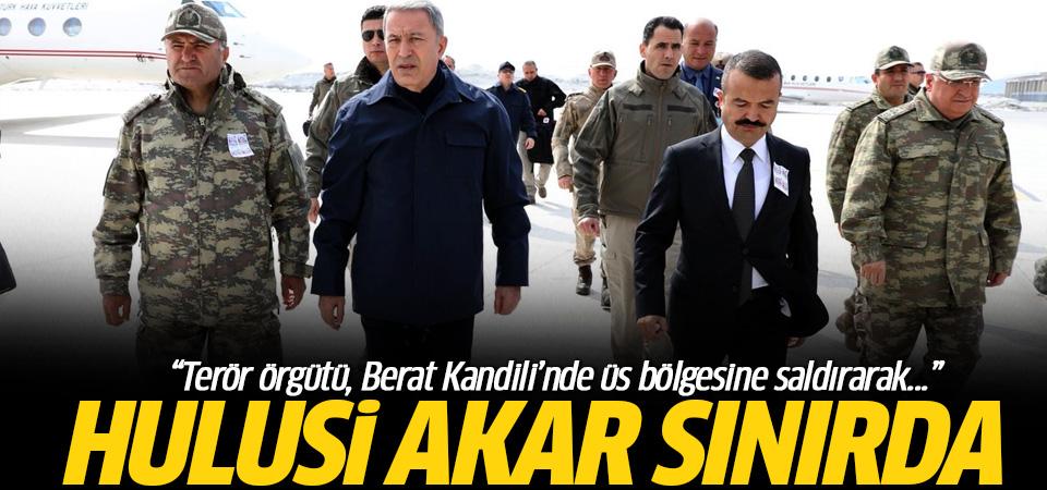 Akar ve komutanlar sınırda: Terör örgütü Berat Kandili'nde...
