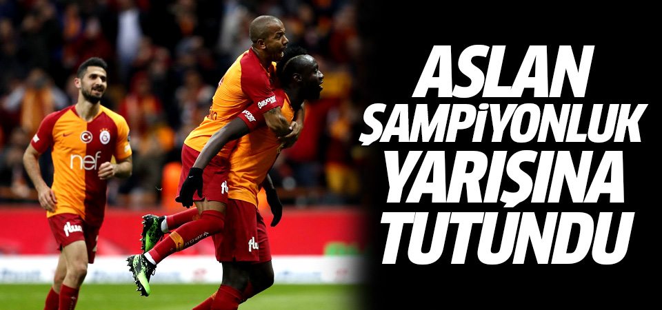 Galatasaray şampiyonluk yarışına tutundu! 3-1