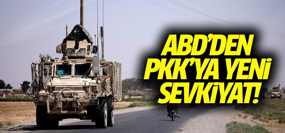 ABD'den PKK'ya yeni sevkiyat!