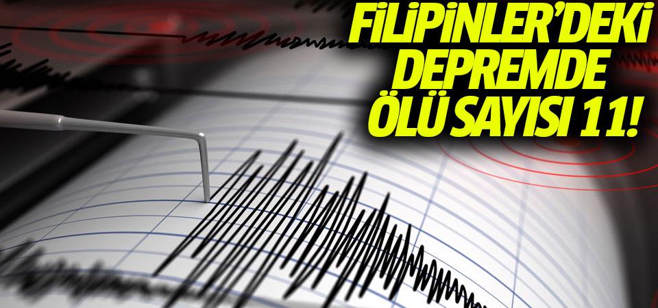 Filipinler'deki depremde ölü sayısı 11!