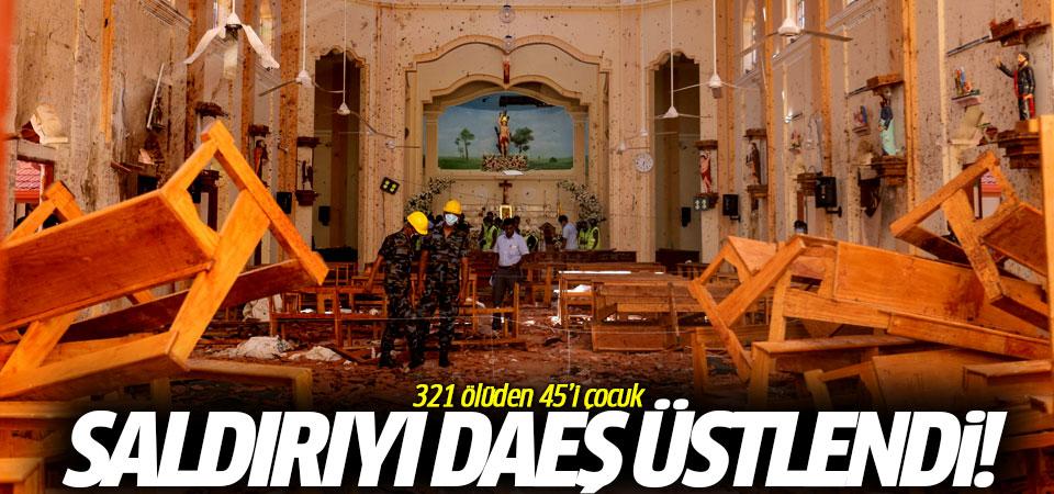 Sri Lanka saldırısını DAEŞ üstlendi! 321 ölüden 45'i çocuk