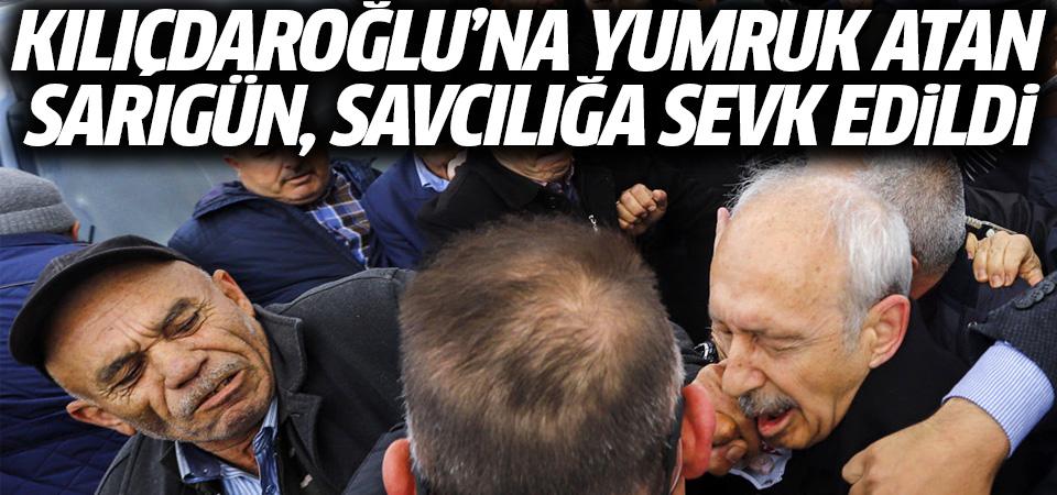 Kılıçdaroğlu'na yumruk atan Osman Sarıgün savcılığa sevk edildi