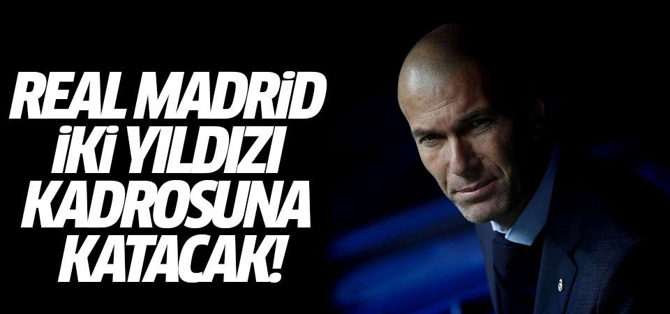 Real Madrid iki yıldızı kadrosuna katacak!