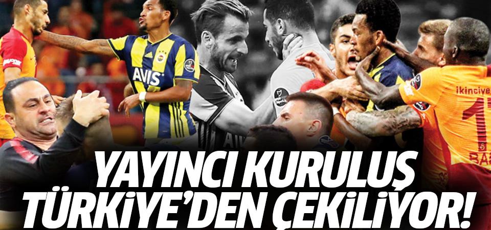 Yayıncı kuruluş Türkiye'den çekiliyor