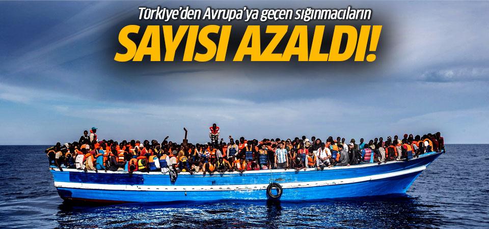 Türkiye'den Avrupa'ya geçen sığınmacıların sayısı azaldı!