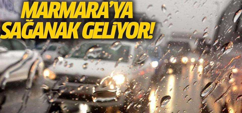 Marmara'ya sağanak uyarısı!