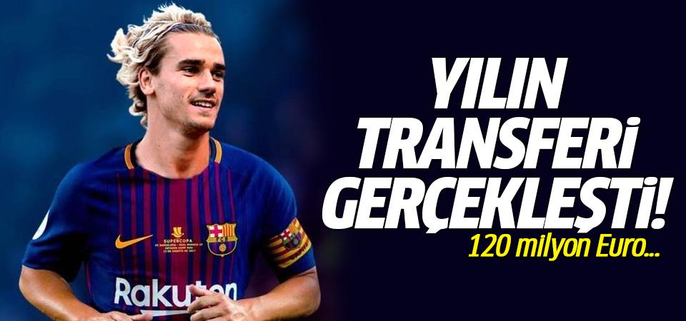 Yılın transferi gerçekleşti! Griezmann Barcelona'da