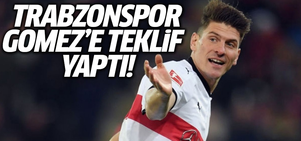 Trabzonspor, Mario Gomez'e teklif yaptı