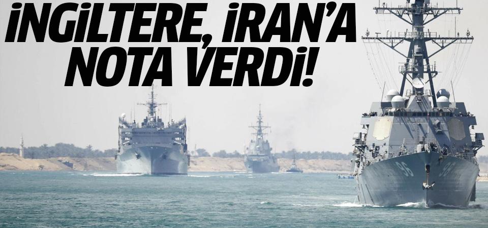 Hürmüz Boğazı'nda tansiyon yüksek: İngiltere, İran'a nota verdi