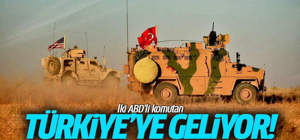 İki ABD'li komutan Türkiye'ye geliyor!
