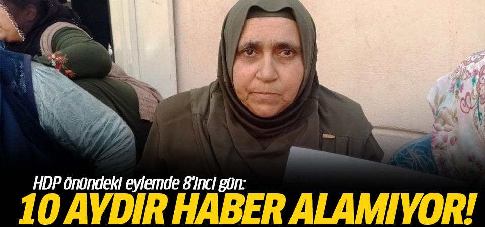 Diyarbakır'daki oturma eylemine bir anne daha katıldı