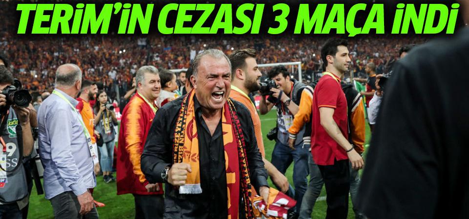 Tahkim Kurulu 4 maçtan 3'e düşürdü: Fatih Terim Fenerbahçe derbisinde kulübede yok