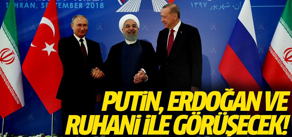 Kremlin Sözcüsü: Putin, Erdoğan ve Ruhani ile görüşecek!