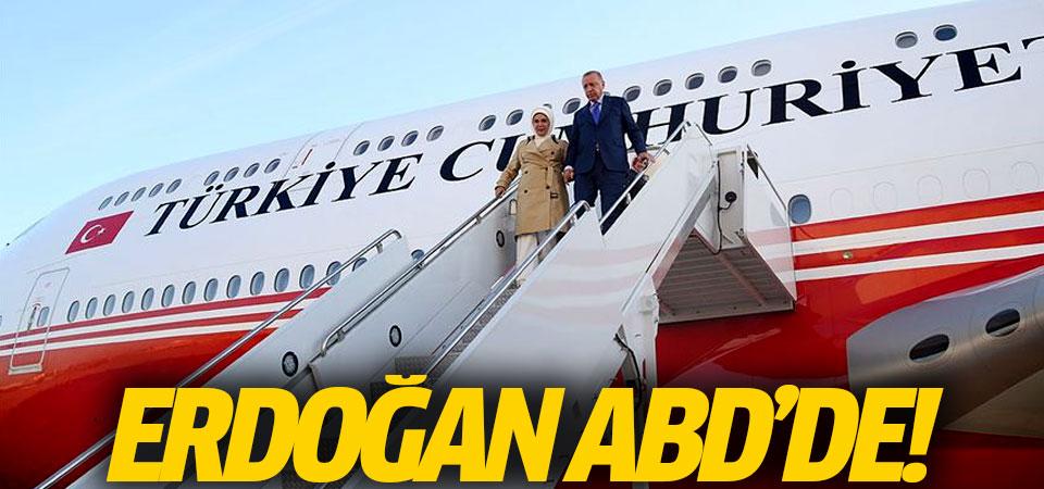 Erdoğan, BM Genel Kurulu görüşmeleri için ABD'de!