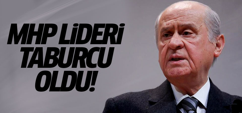 MHP Lideri taburcu oldu!