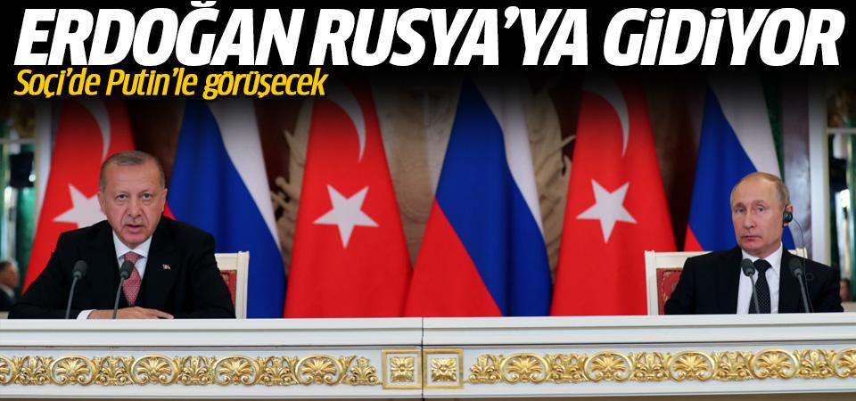 Cumhurbaşkanı Erdoğan, Soçi'de Putin ile görüşecek