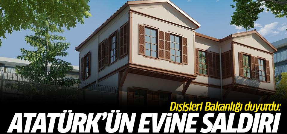 Dışişleri Bakanlığı Sözcüsü Aksoy: Atatürk Evi'ne eylem teşebbüsünde bulunuldu
