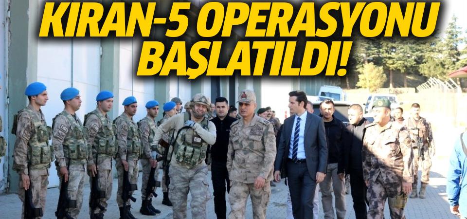 PKK'ya yönelik Kıran-5 Operasyonu başlatıldı