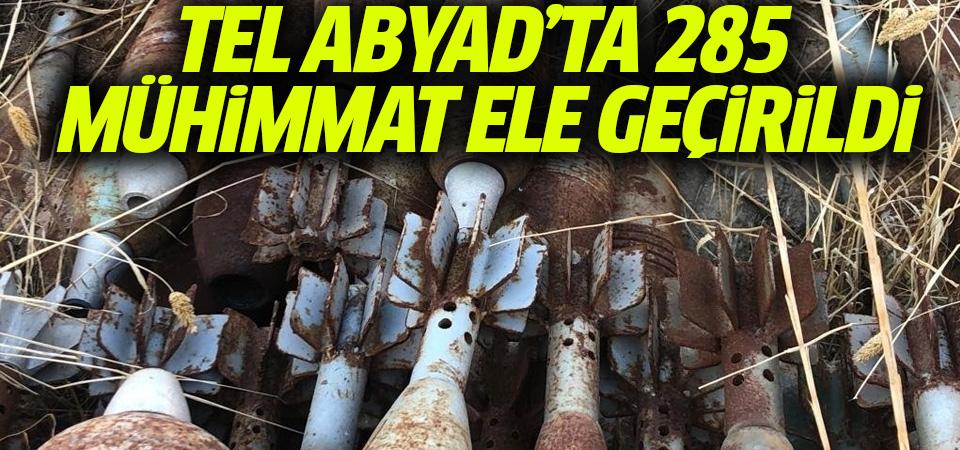 MSB: 'Tel Abyad'da 285 katyuşa ve havan mühimmatı ele geçirildi'