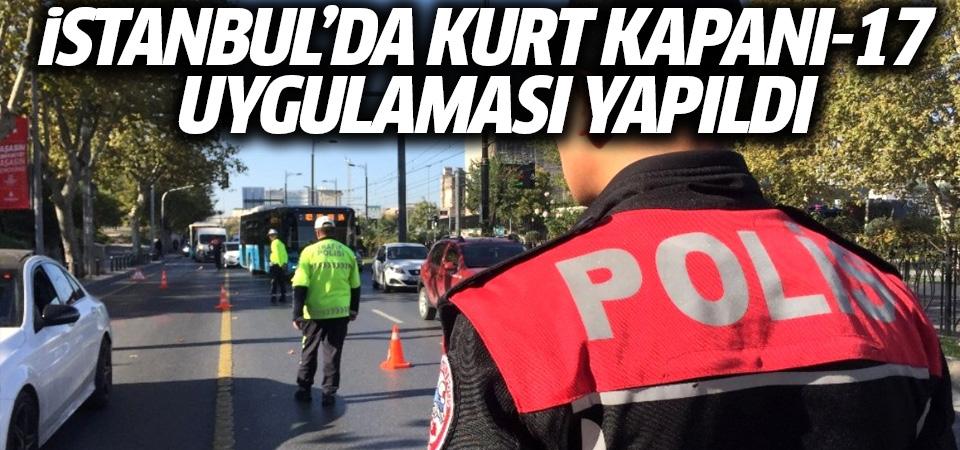 İstanbul'da 'Kurt Kapanı 2019-17' denetimi gerçekleştirildi