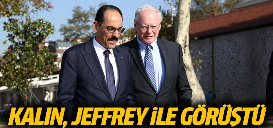 Kalın, Jeffrey ile görüştü