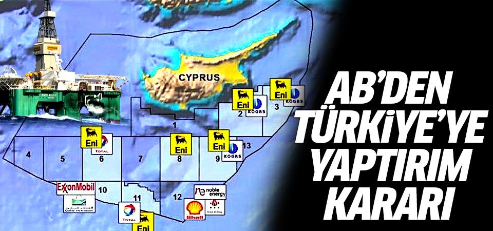 AB'den Türkiye'ye yaptırım kararı