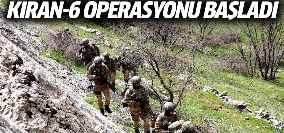 Kıran-6 operasyonu başladı