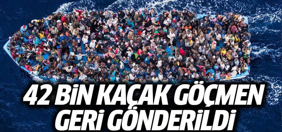 İstanbul Valiliği: 42 bin kaçak göçmen gönderildi