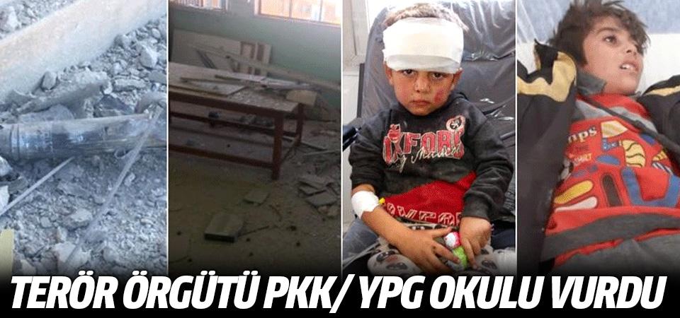 Terör örgütü PKK/YPG Tel Abyad'da okulu vurdu