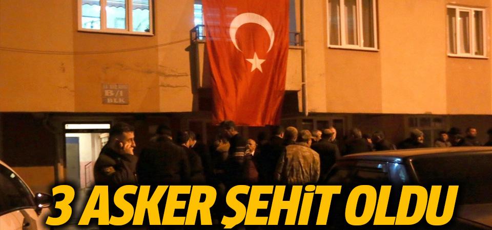 Barış Pınarı Harekat Bölgesi'nde 3 asker şehit oldu