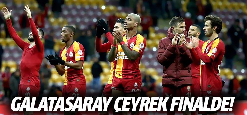 Galatasaray Ç. Rizespor'u yendi! Cimbom Türkiye Kupası'nda çeyrek finalde